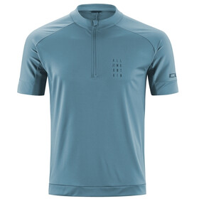 Cube AM Jersey Korte Mouwen Heren, smoke blue